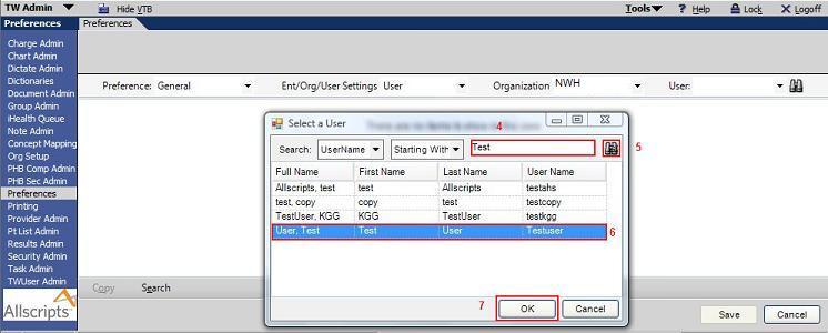 NET Preferences - Galen Healthcare Solutions - Allscripts TouchWorks