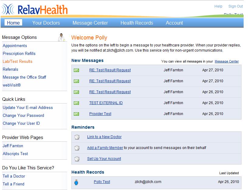 Patient Portal Integration - Galen Healthcare Solutions ...